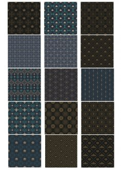 Dark Pattern Set Free Vector
