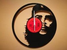 Orologio Vinile Che Guevara dxf file