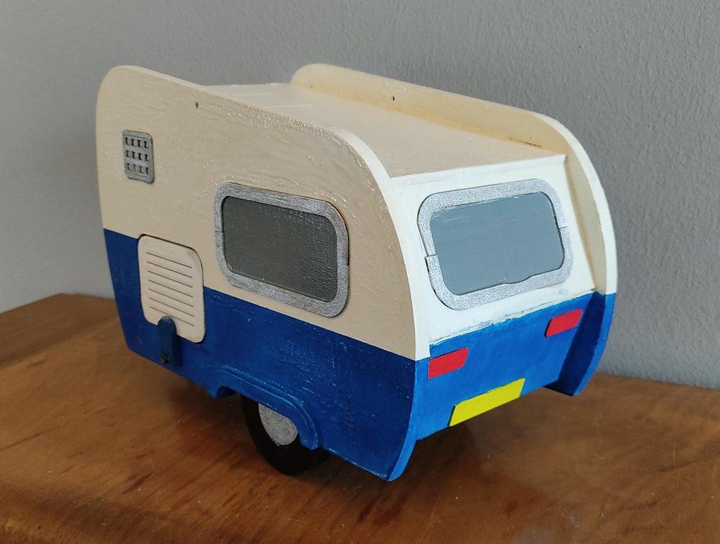 Laser Cut Caravan Bird House SVG File