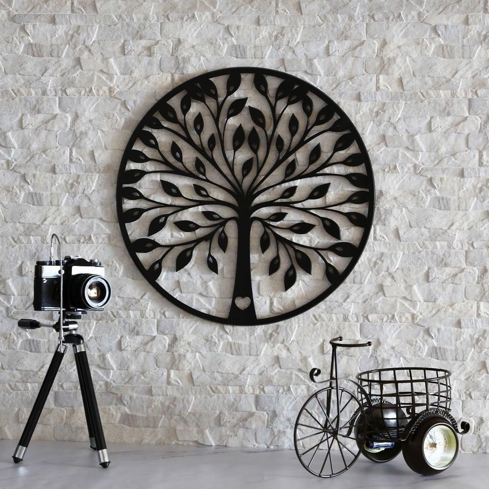 Laser Cut Tree Wall Decoration Free Vector