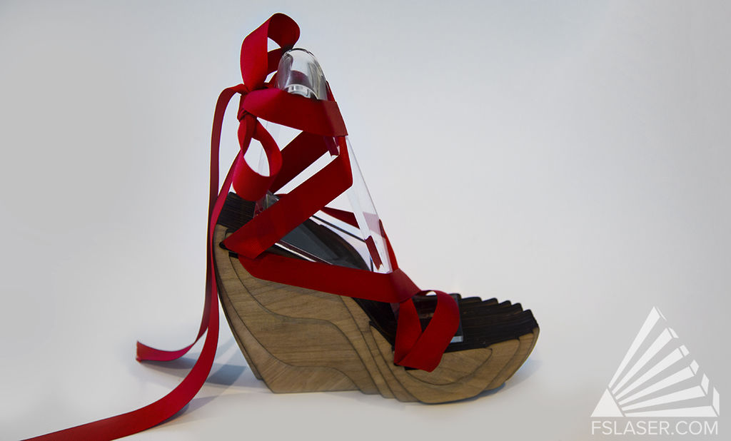 Laser Cut Shoe Free Vector