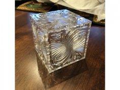 Laser Cut Twirl Box Free Vector