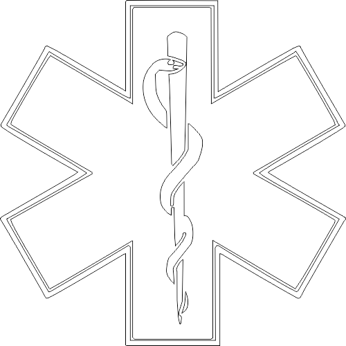 Star Of Life DXF File