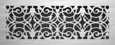 Decor Jali Grille Pattern Laser Cut SVG File