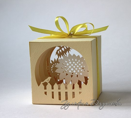 Laser Cut Paper Cut Light Box Free Vector