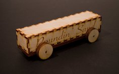 Laser Cut Derby Car 3mm Baltic Birch Plywood DXF File