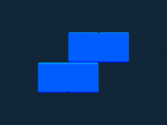 Tetris block S stl file