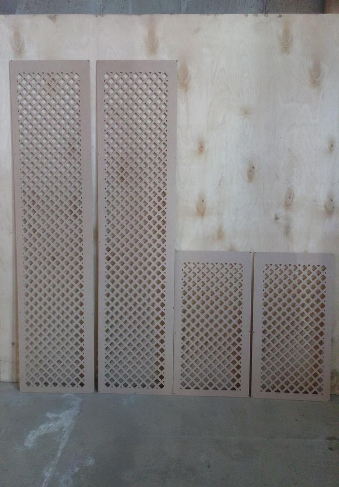 Laser Cut Separator Pattern Design Free Vector