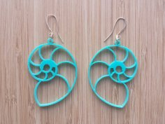 Laser Cut Earrings Jewelry Templates DXF File