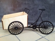 Laser Cut Christiania Bike DXF File