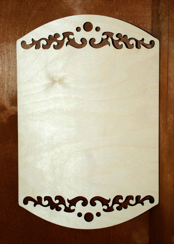 Laser Cut Decorative Wooden Cutting Boards Free Vector