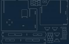 Fantasy Villa 7 dxf file