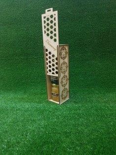 Laser Cut Gift Box Pencil Case Wooden Wine Box Free Vector