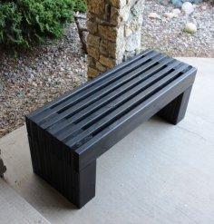 Garden Bench Plans PDF File