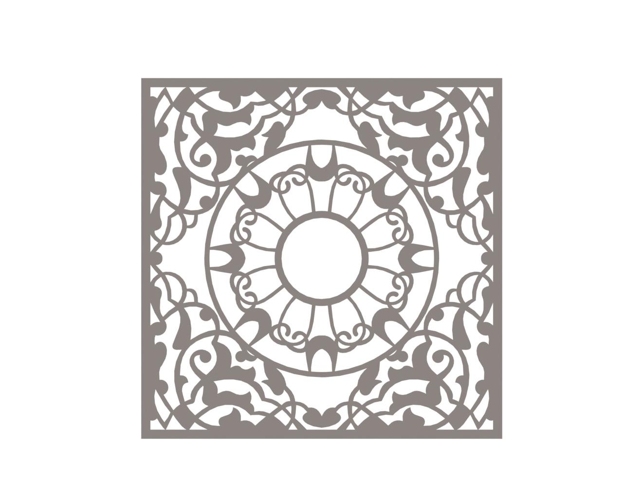 Vector Mandala DXF File