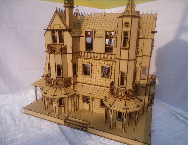 Castle Laser Cut CDR File