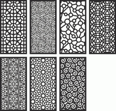 Geometric Motifs Repeating Pattern Vectors Free Vector