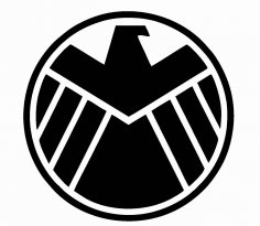 Agents of Shield Logo Vector CDR File