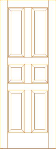 Interior Door DWG File