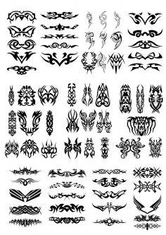 Tatoo Free Vector
