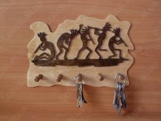 Kokopelli Wall Mount Key Holder