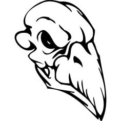 Skull 005 dxf File