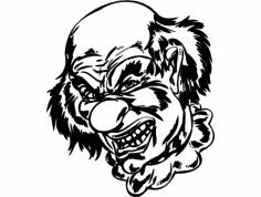 Clown 048 dxf File