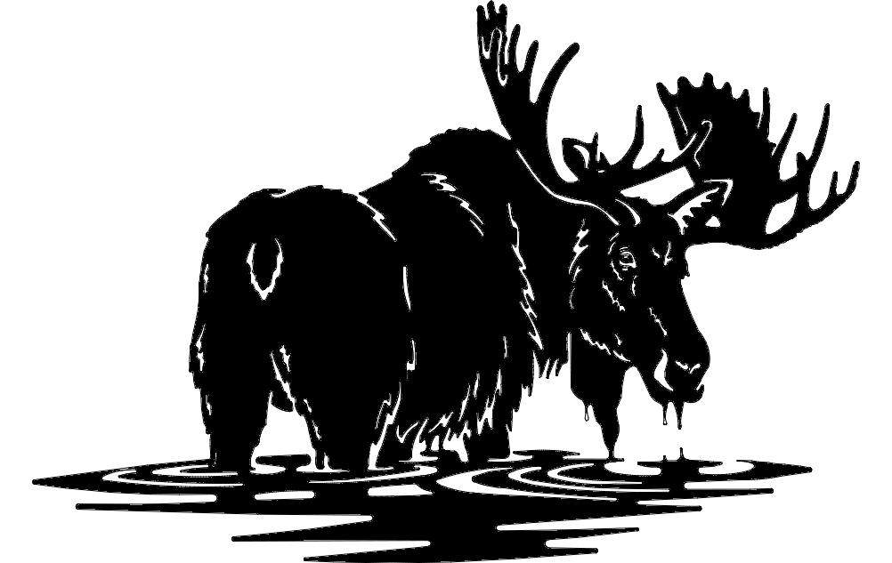 Moose 2 dxf File