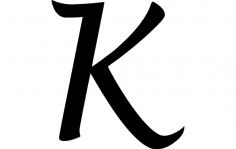 K dxf File