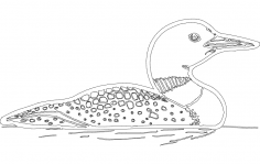 Loon dxf File