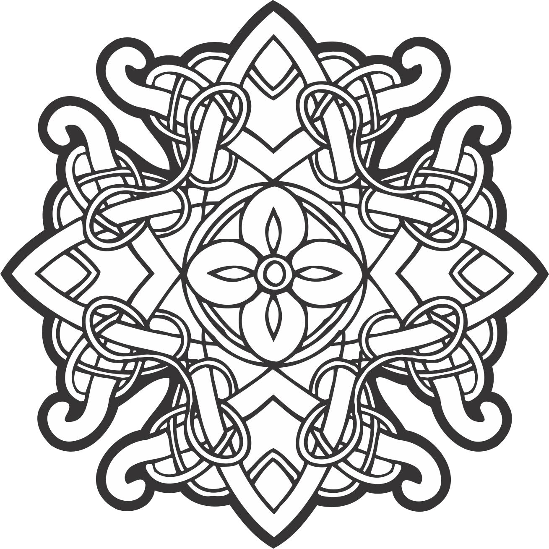 Celtic Ornament Decor Free Vector