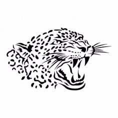 Leopard Stencil