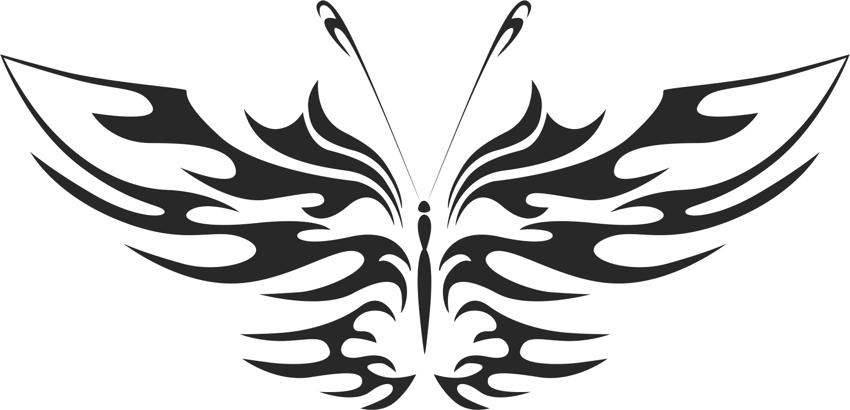 Butterfly Vector Art 017 Free Vector