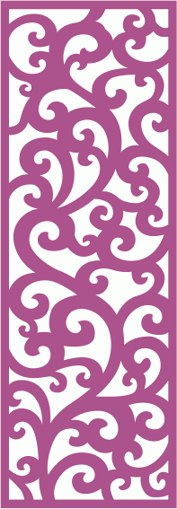 Laser Cut Vector Panel Seamless 234 Free Vector