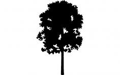 Tree 23 dxf File