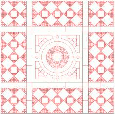 Pattern DWG File