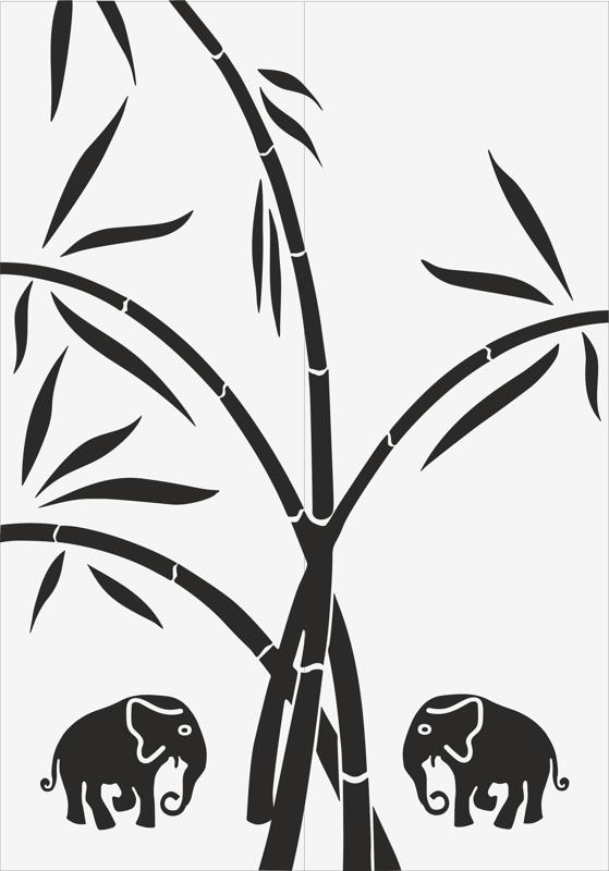 Jungle Sandblast Pattern DR File