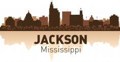 Jackson Skyline Free Vector