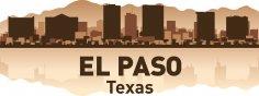 El Paso Skyline Free Vector