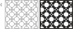 Stunning Room Divider Pattern Free Vector