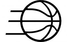 Basketball dxf File
