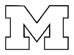 University Of Michigan dxf File