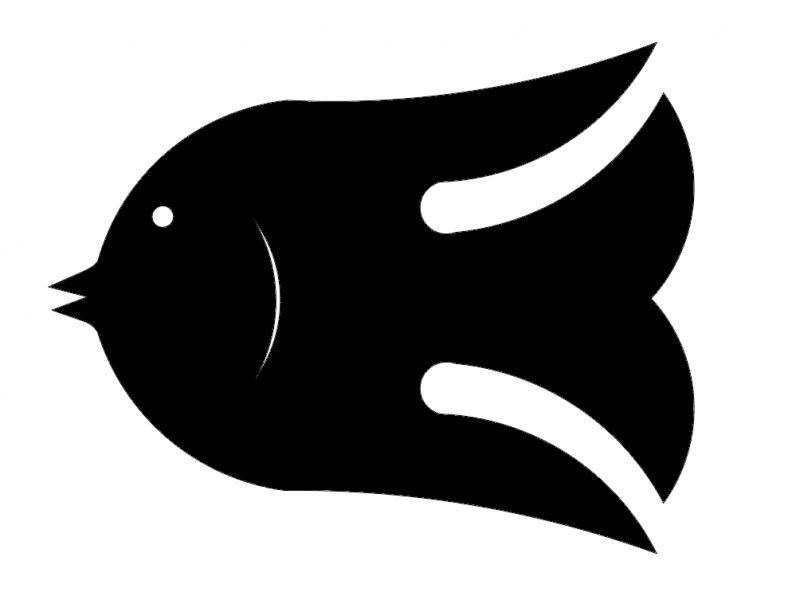 Fish Small 2 dxf File