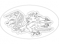 Gamecock dxf File