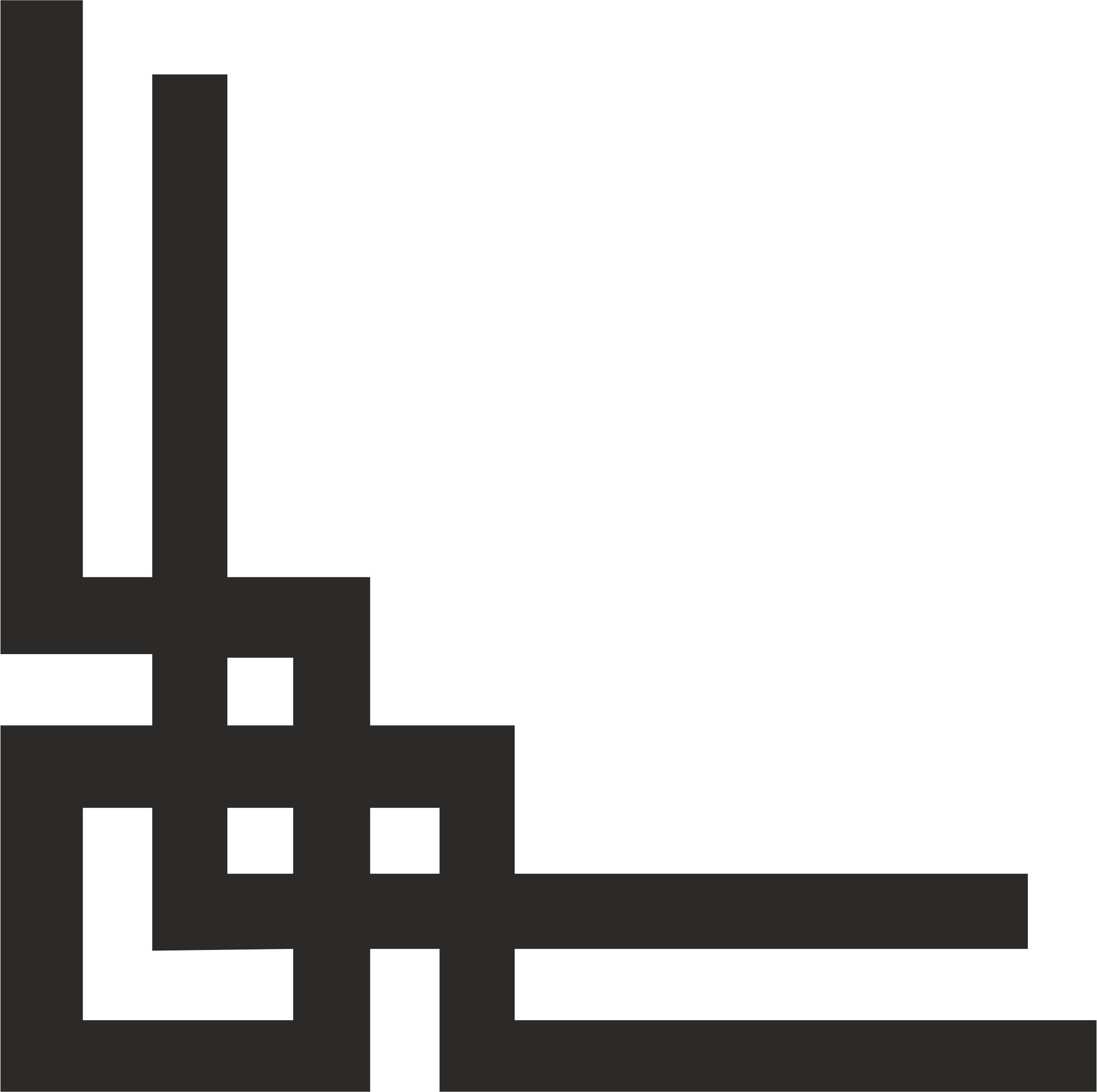 Islamic corner vector dxf File