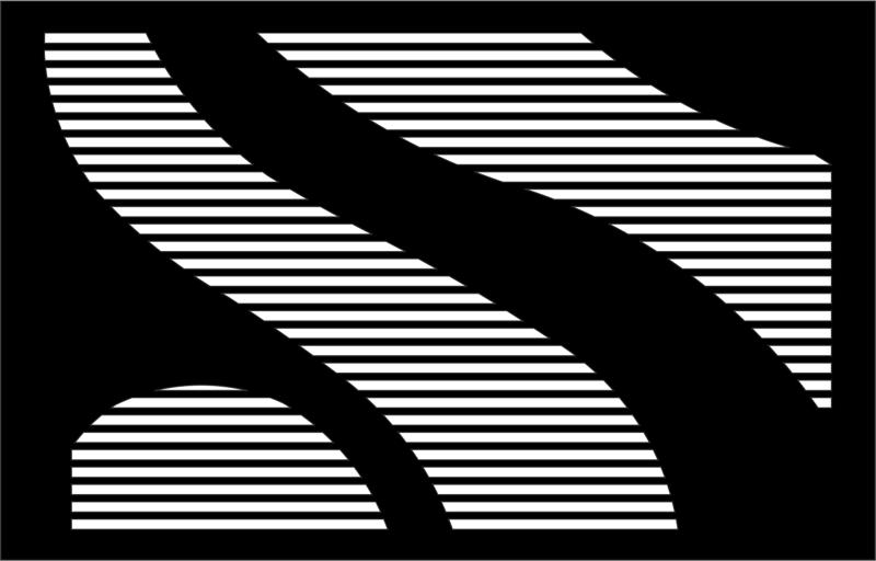 Trendy Cool Black And White Pattern Free Vector