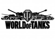 World of Tanks Logo Vector CDR File
