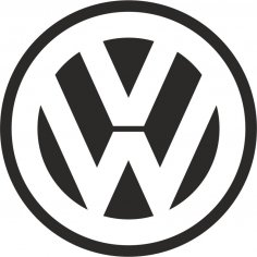 Volkswagen Logo Vector Free Vector