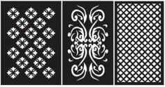 Pattern Designs 44 dxf File