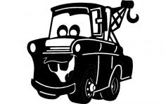 Manard Dump Truck dxf File